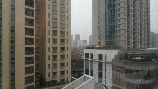 Ruitai Jingan Hotel:                   view from the room