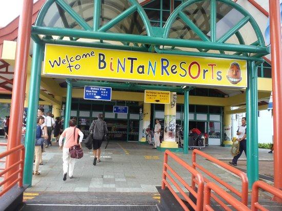 Nirwana Gardens - Nirwana Resort Hotel:                   ferry terminal