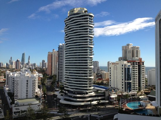 Mantra Broadbeach on the Park:                   Fabulous view at day