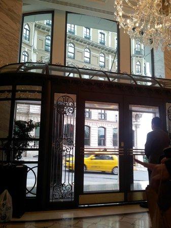Rixos Pera Istanbul:                   The main road to taksim eara form hotel loby.