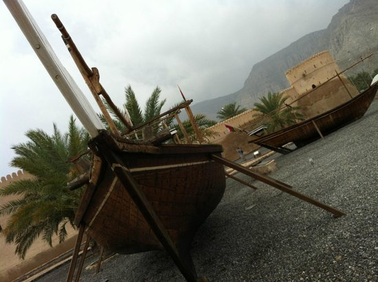 Atana Khasab:                                     front space of Khasab castle