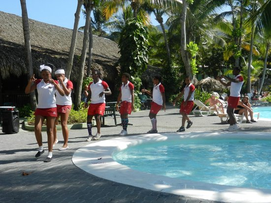 ClubHotel Riu Merengue:                   Animation at the pool