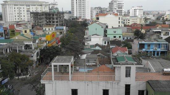 Cherish Hotel:                   vue de la chambre
