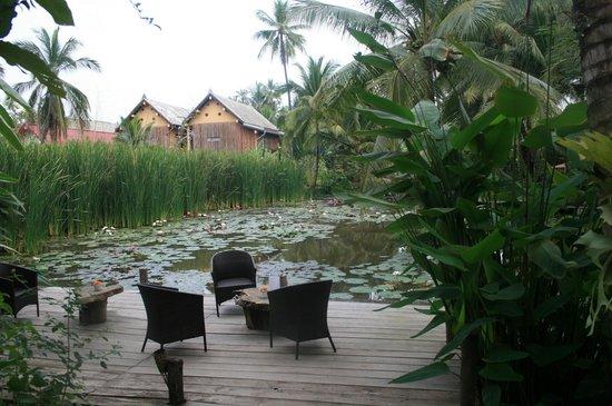 Maison Dalabua Hotel:                   terrasse...