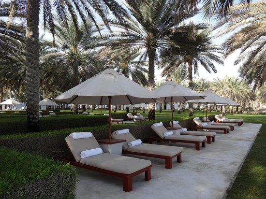 The Chedi Muscat – a GHM hotel: espace extérieur