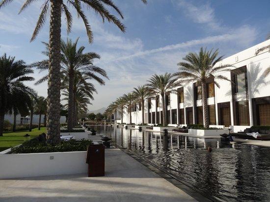 The Chedi Muscat – a GHM hotel: piscine