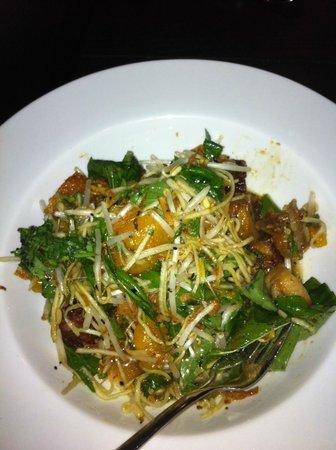 Wild Ginger:                                     Pork Belly Salad