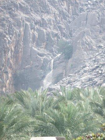 Atana Khasab:                                     Waterfall (inside the village