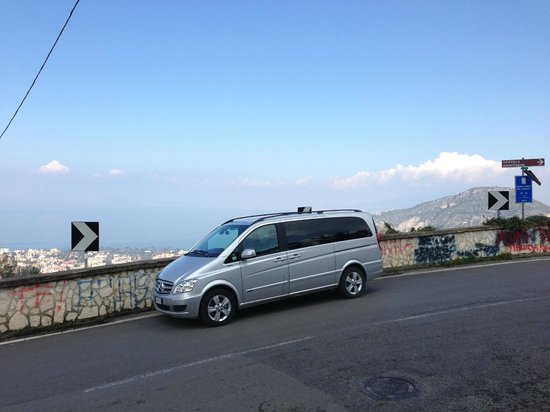 Iaccarino Sorrento Limousine Service: Our New Mercedes van