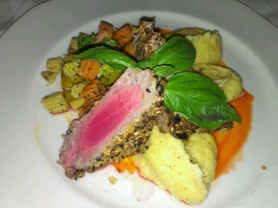 The Sunset Beach Resort & Spa, Taling Ngam:                                     Tuna Steak