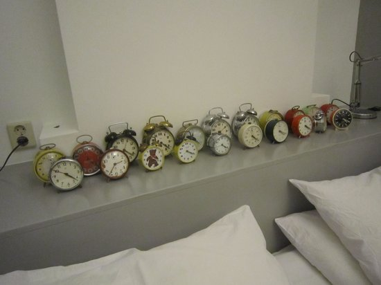 The Collector Bed & Breakfast:                   The Clocks