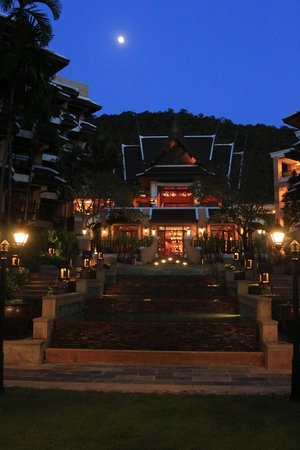 Amari Vogue Krabi:                   Moon light view of the hotel!