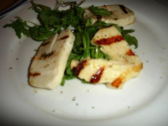 Avra Estiatorio: Grilled Haloumi appetizer