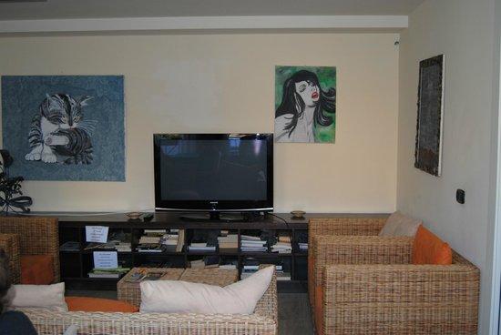 Hotel Europa - Riviera: Angolo tv