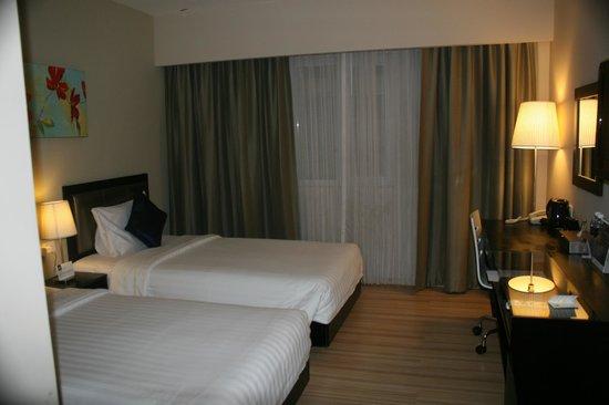 โรงแรมบรูไน: Bedroom
