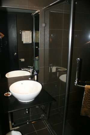 The Brunei Hotel: Bathroom