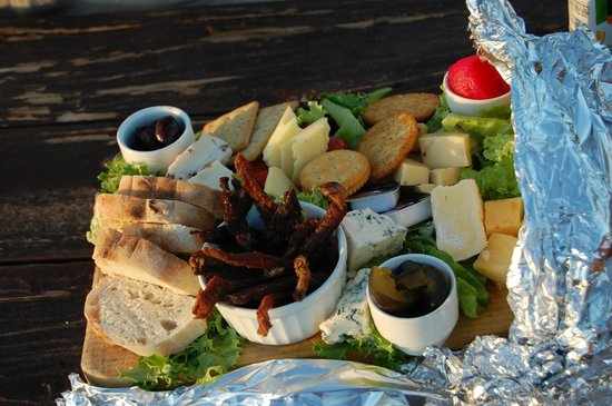 Buffelsdrift Game Lodge:                   Delicious Platter