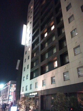 Dormy Inn Kanazawa:                   13.01.13【ドーミーイン金沢】ホテルの外観