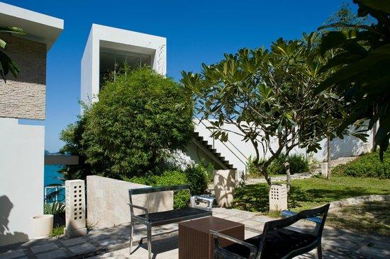 Villa Beige : Garden