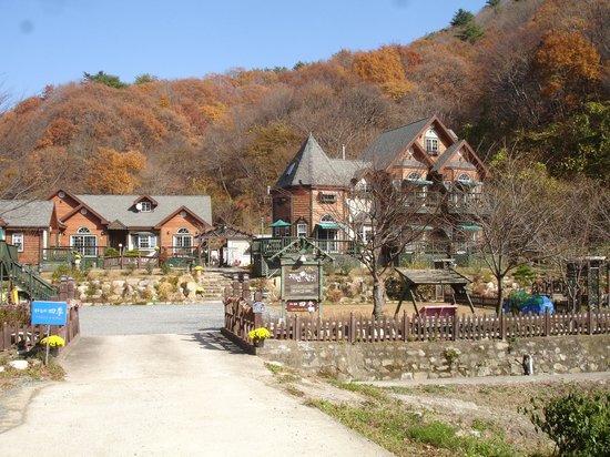 Gyeongju JY Pension: The entrance to JY Pension.