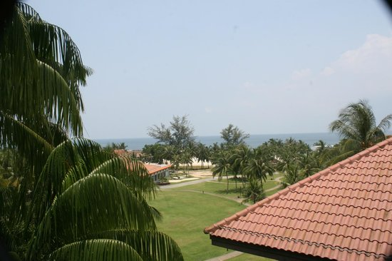Bintan Lagoon Resort:                   View from the corridors