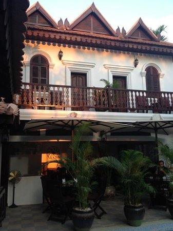 HanumanAlaya Villa:                                     main building