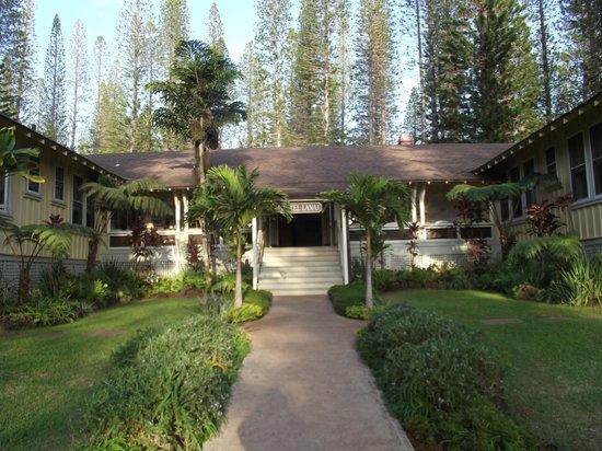 Hotel Lanai:                                     Aloha feeling