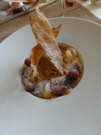 Le Saint Alys :                   Dessert du menu à 29 € ( je ne sais plus le nom !)