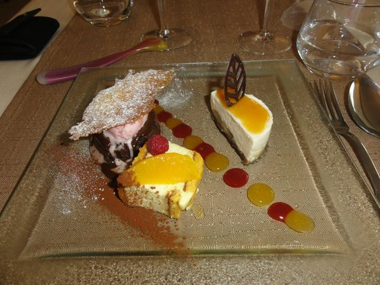 Le Croisic, Prancis:                   Assiette de gourmandises (menu du jour)
