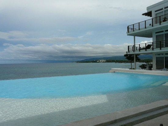Cohiba Villas:                                     View from infinity pool!