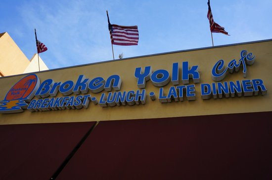 Broken Yolk Cafe :                                     Broken yolk