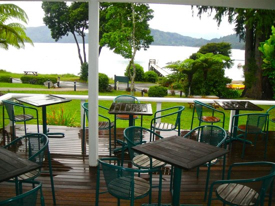 Raetihi Lodge: View from dinning room