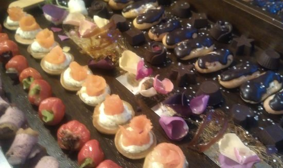 Bite Me: canapes for a wedding
