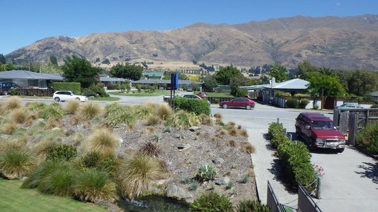 Clearbrook Motel Wanaka: View from window