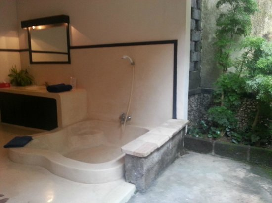 Puri Mesari Hotel & Suites: Outdoor bathroom
