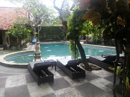Puri Mesari Hotel & Suites: View from my front porch
