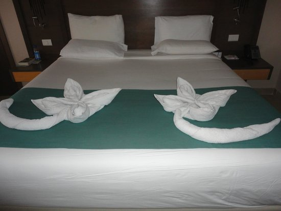 Coral Sea Aqua Club Resort:                   towel art
