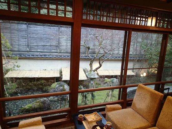 Kinosaki Onsen Nishimuraya Honkan:                   部屋からの景色