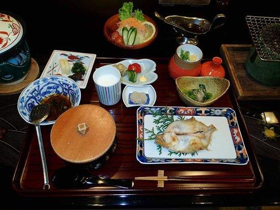 Kinosaki Onsen Nishimuraya Honkan:                   朝食