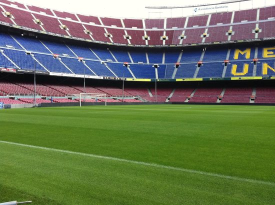 A chapel inside the stadium picture of camp nou for Pelouse