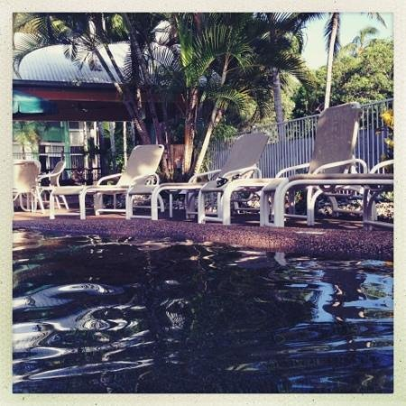 Tropical Nites: 7am pool dip