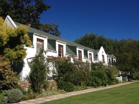 The Cellars-Hohenort:                   breath taking views from the exquisite gardens