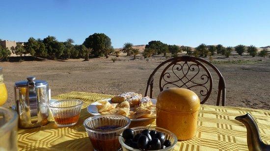 Dar El Janoub:                                     Lush breakfast