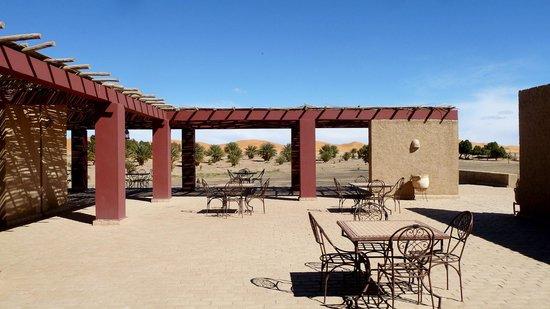 Dar El Janoub:                                     Dining terrace