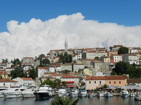 Riva Appartements:                   Aussicht vom Balkon