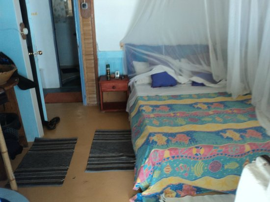 Casa na Praia Tofo: Bed