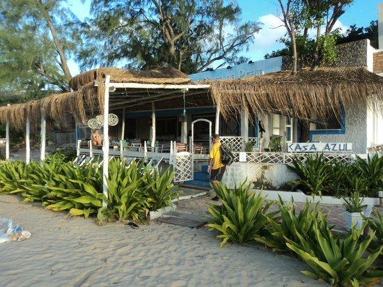 Casa na Praia Tofo: Outside