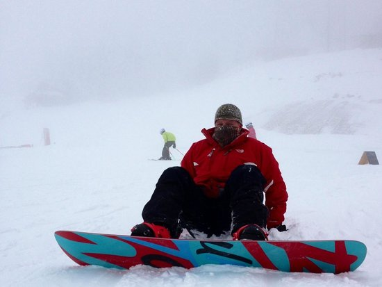 Terry Peak Ski Area:                                     Strapped in and ready for takeoff!