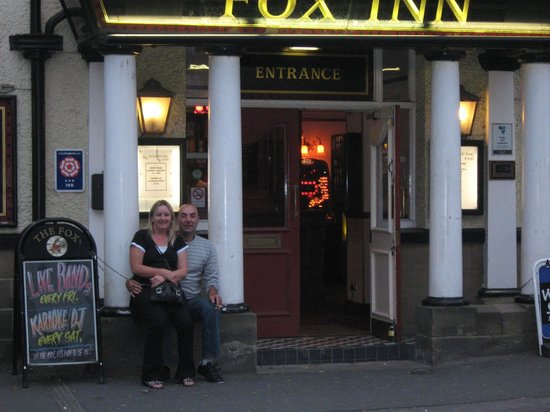 The Fox Inn:                                     outside entrance