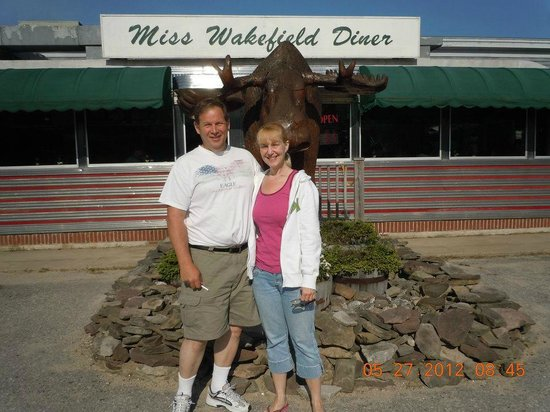 Miss Wakefield Diner: Favorite place to stop while heading to North Conway!!!